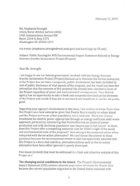 Inicerator Letter