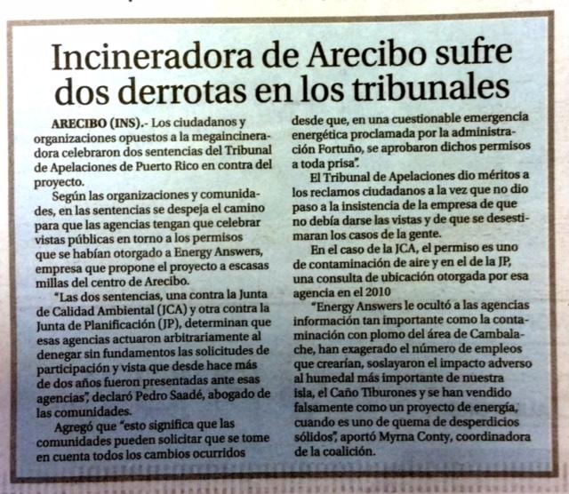 El Vocero- Incineradora de Arecibo sufre dos derrotas en los TribunalesFeb 3, 2016, 8.43 AM (2).jpg